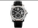 KS Mens Date Day Automatic Mechanical Black Leather Wrist Watch + Gift Box
