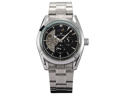 KS 24 Hours Analogue Black Automatic Mechanical Date & Day Men Steel Watch New