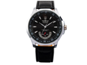 Mens Leather Self-Winding Mechanical Movement Mens Sport Watch Black Dial 2012