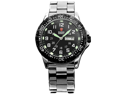 Shark Army Men's Luminous Black Military Sport Quartz Watch