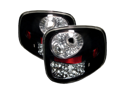 Ford F150 Flareside 97-03 LED Tail Lights - Black