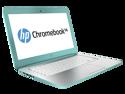 "HP Chromebook 14-Q020NR, Celeron 2955U , 2GB DDR3 , 16GB SSD, 14""HD LED (1366 x 768) Chrome OS, Ocean turquoise"