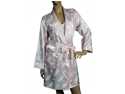 Lovely Day Lingerie Women's Pink Cotton Jacquard Robe