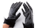 Halloween Party Props Tricky Realistic Horror Gorilla Gloves  Skeleton Ghost Cloth Gloves