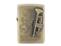 Trumpet Cigarette Lighter (Yellow)