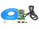 PCI FireWire IEEE 1394 3 & 1 Port Card & 4/6 Pin Cable