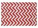 CHEVRON RED,2.8X4.8