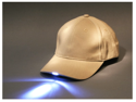 Baseball Cap with built-in 5 LED Flashlight (beige)