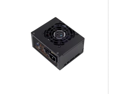 Black SilverStone 450W SFX12V Computer Power Supply ST45SF, 80 PLUS BRONZE