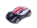 Stylish Car Shaped Flag of United Kingdom 2.4G Wireless Optical Mouse with Mini USB Receiver