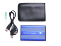 SANOXY USB 2.0 External 2.5-Inch IDE HDD Enclosure Case for Laptop - Blue