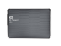 WD My Passport Ultra 1TB Portable External Hard Drive USB 3.0 with Auto and Cloud Backup - Titanium (WDBZFP0010BTT-NESN)