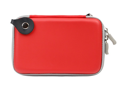 GTMax Hard Shell Carrying Case for Western Digital My Passport 500GB, 1TB, 2TB /My Passport Edge 500GB /My Passport Essential & More Portable External Hard Drives - Red *Includes Lanyard*