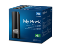 WD My Book 4TB USB 3.0 Hard Drive with Security, Local and Cloud Backup (WDBFJK0040HBK-NESN)