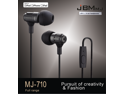 2014 JBMmj710 metal in-ear style music mega bass The voice of truth which is high fidelity reduction headphones for Android apple drive-by-wire's  earbuds