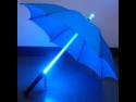 Cool Runner Light Saber LED Flash Light Umbrella Blue