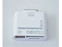 SD TF Card Reader Adaptor 5 in 1 USB Camera Connection Kit for Apple iPad