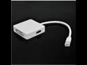 Mini DisplayPort to DP HDMI DVI Multiple Converter for Apple MAC iMac MacBook