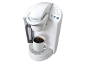 Keurig K45 Elite Brewing System(Coconut White) with bonus 12-count K-Cup Varity Pack