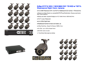 Q-SEE QT5716-2-16 16CH Full D1 Security System with 16 Each 700TVL IR Bullet Cameras