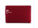WD My Passport Ultra 1TB Portable External Hard Drive USB 3.0 with Auto and Cloud Backup - Red (WDBZFP0010BRD-NESN)