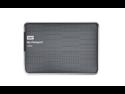 WD My Passport Ultra 1TB Portable External Hard Drive USB 3.0 with Auto and Cloud Backup - Titanium (WDBZFP0010BTT-NESN)