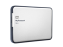 WD My Passport Slim 1TB Portable Metal External Hard Drive USB 3.0 with Auto and Cloud Backup (WDBGMT0010BAL-NESN)