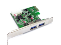 USB 3.0 PCI-e PCI ExpressCard 2 Port USB 3.0 HUB to PCI-E Express Card Adapter NEC Chipset