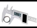 Solar Measuring Tool Carbon Fiber Composite 6 Inch Digital Caliper with Metric/SAE/Inch