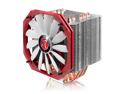 RAIJINTEK EREBOSS, 6pcs 6mm Heat-pipe, Slim 14013 PWM fan, Copper nickel base, Option to install dual fans, Giant dissipating fin area & outstanding performance, Multiple mounting kits for Intel & AMD