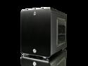 Raijintek Metis Aluminum Mini-ITX Case - USB 3.0 2 Ports Compatible with Standard ATX Power Supply & 170mm VGA Card, 120 mm Performing Fan, 160mm CPU Cooler - Black