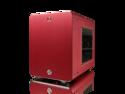 RAIJINTEK Metis Aluminum Mini-ITX Case, USB 3.0 2 Ports Compatible with Standard ATX Power Supply & 170mm VGA Card, 120 mm Performing Fan, 160mm CPU Cooler - Red