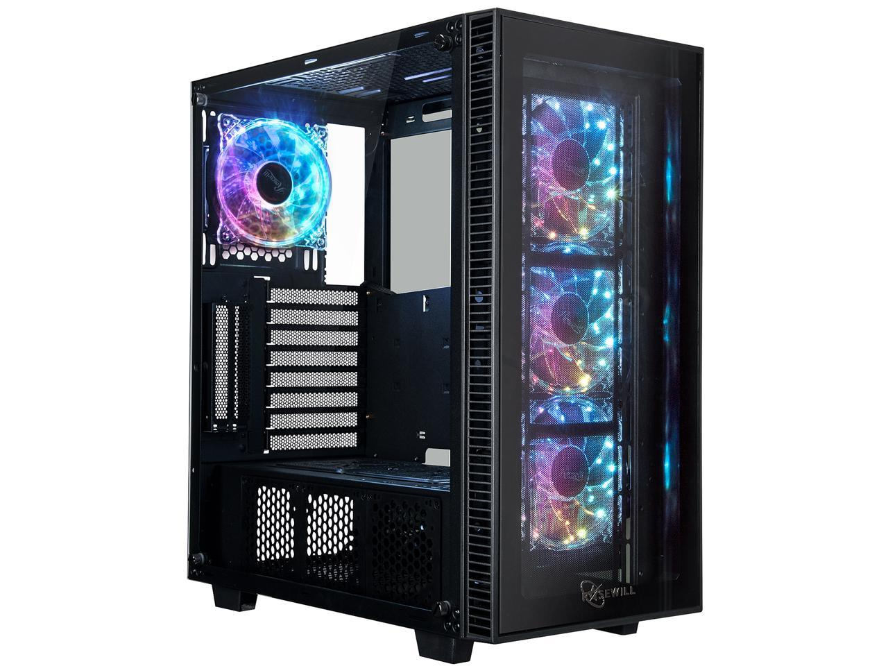 Rosewill CULLINAN MX ATX Mid Tower Computer Case + 650W Power Supply
