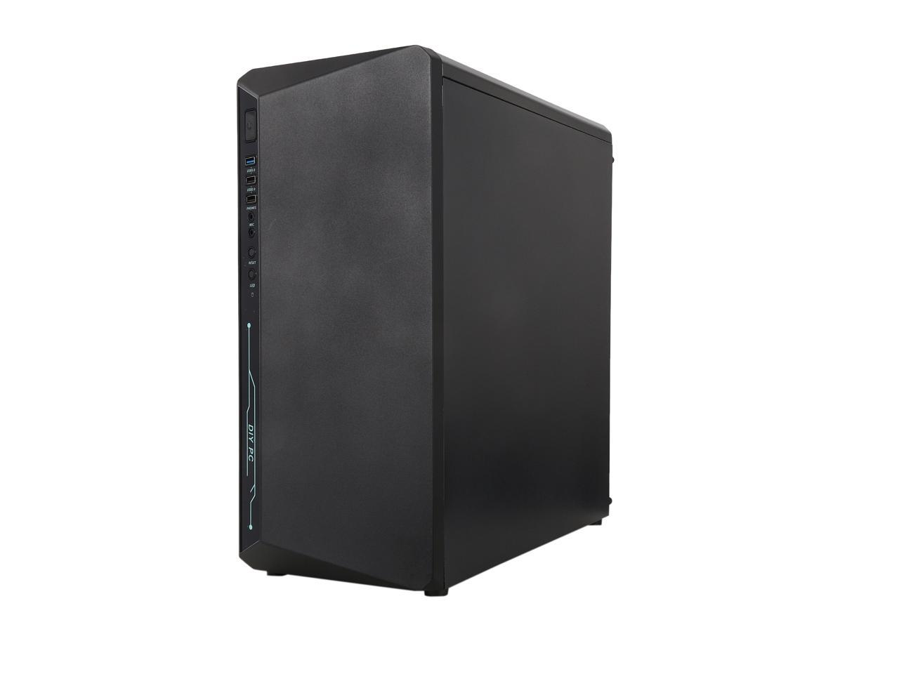 DIYPC ATX Mid Tower Computer Case