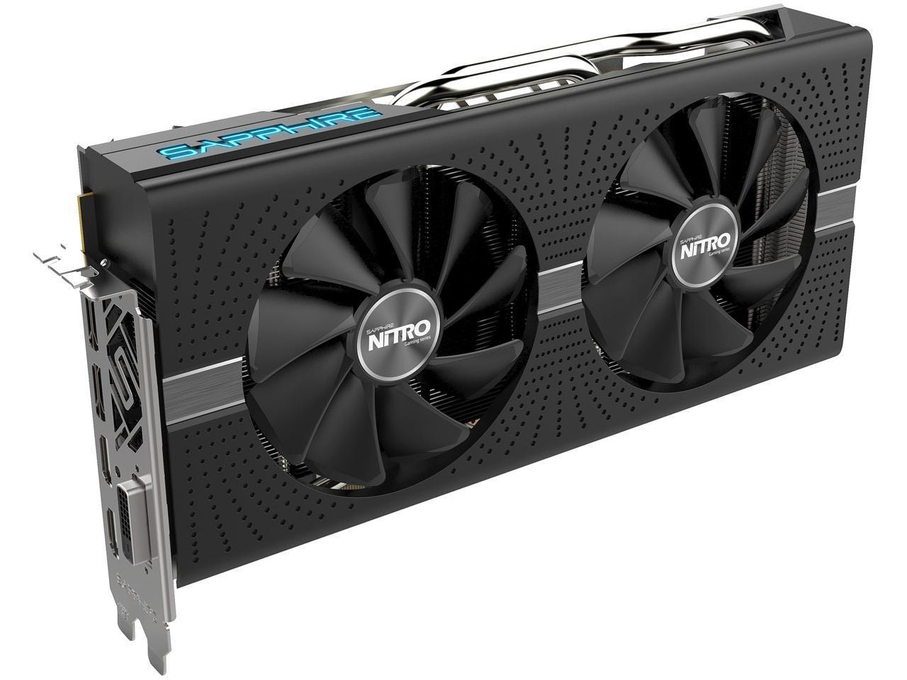 Sapphire Radeon NITRO+ RX 580 8GB Video Card + AMD Gift