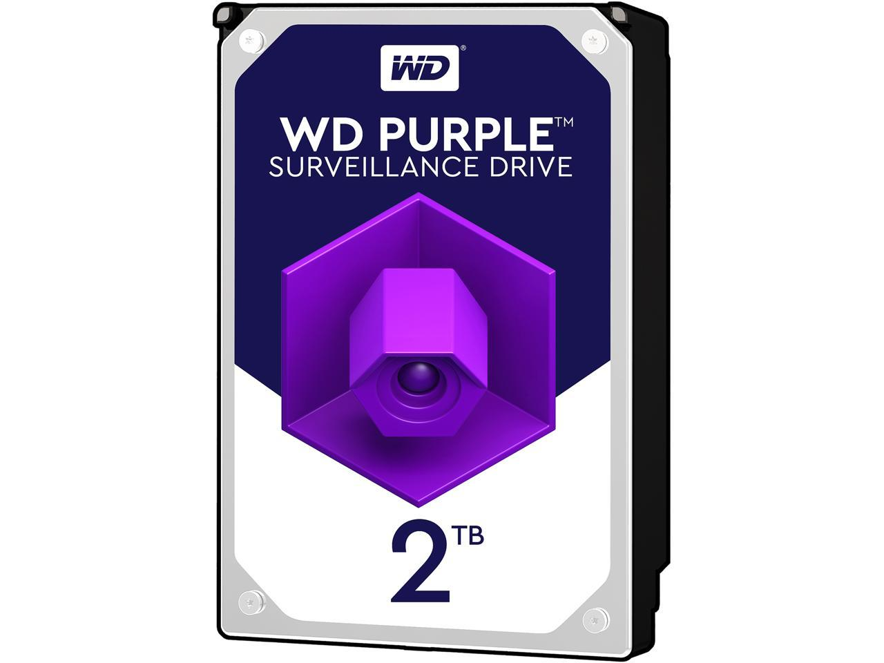 "Western Digital Purple 3.5"" 2TB Internal Hard Drive"