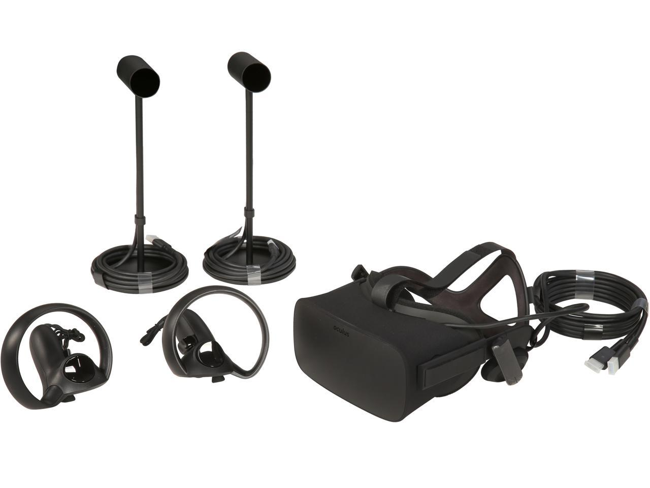 Oculus Rift + Touch Virtual Reality Headset Bundle