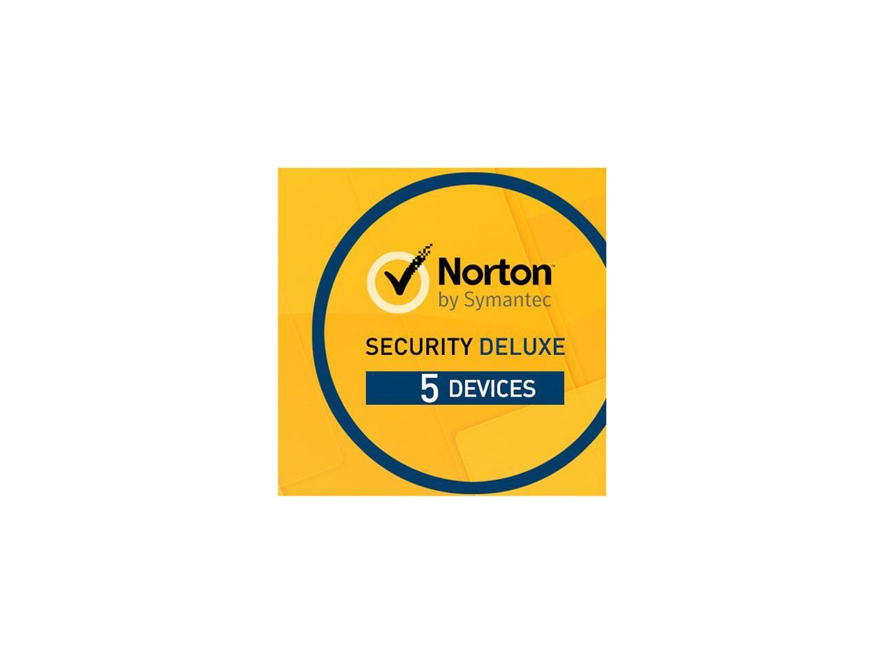 Giveaway - Symantec Norton Security Deluxe 5 Devices - 60