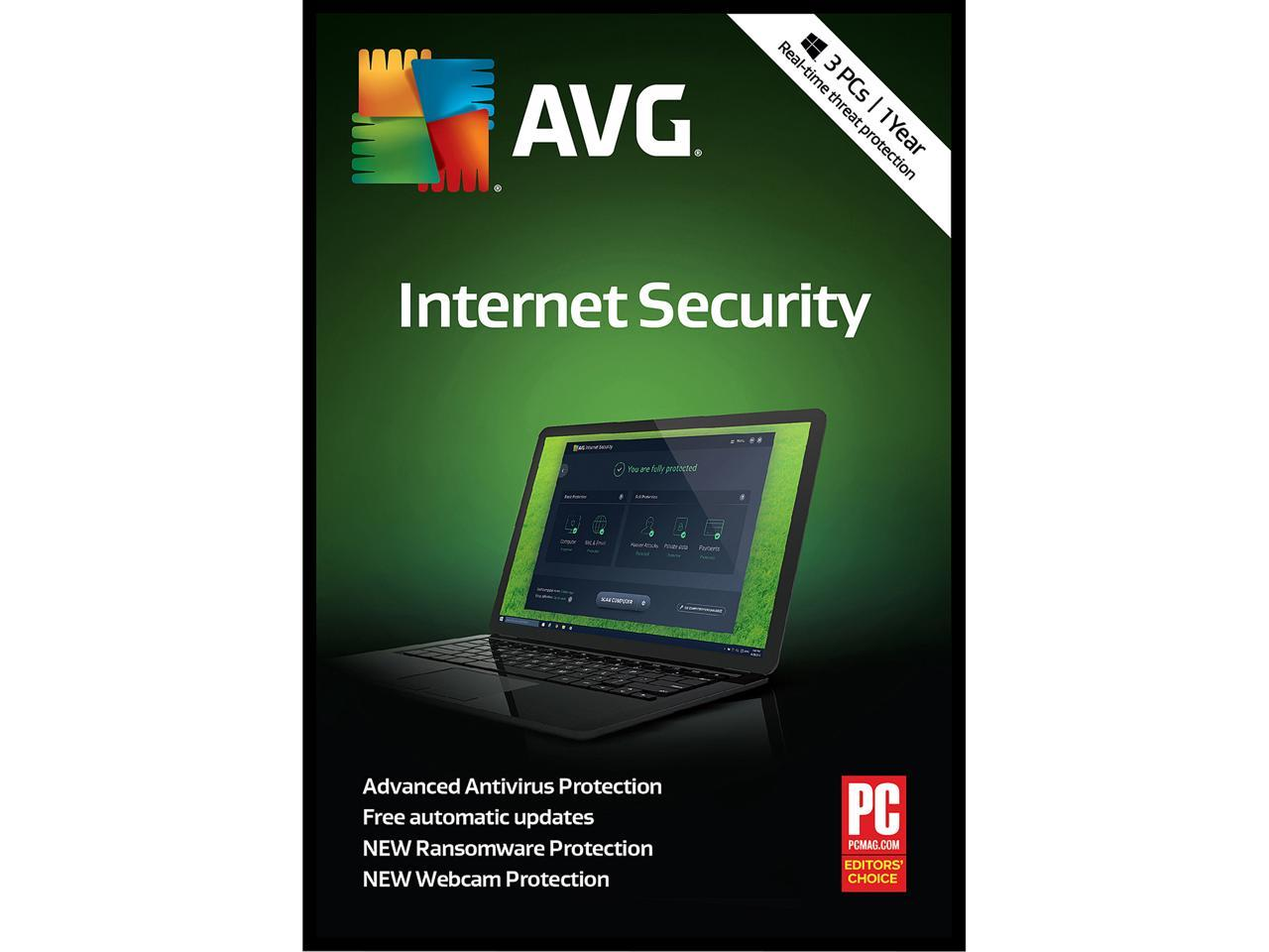 AVG Internet Security 2018 Software