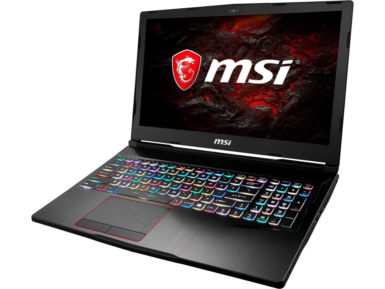 "MSI GX63VR 15.6"" FHD Intel Quad Core i7 Gaming Laptop"