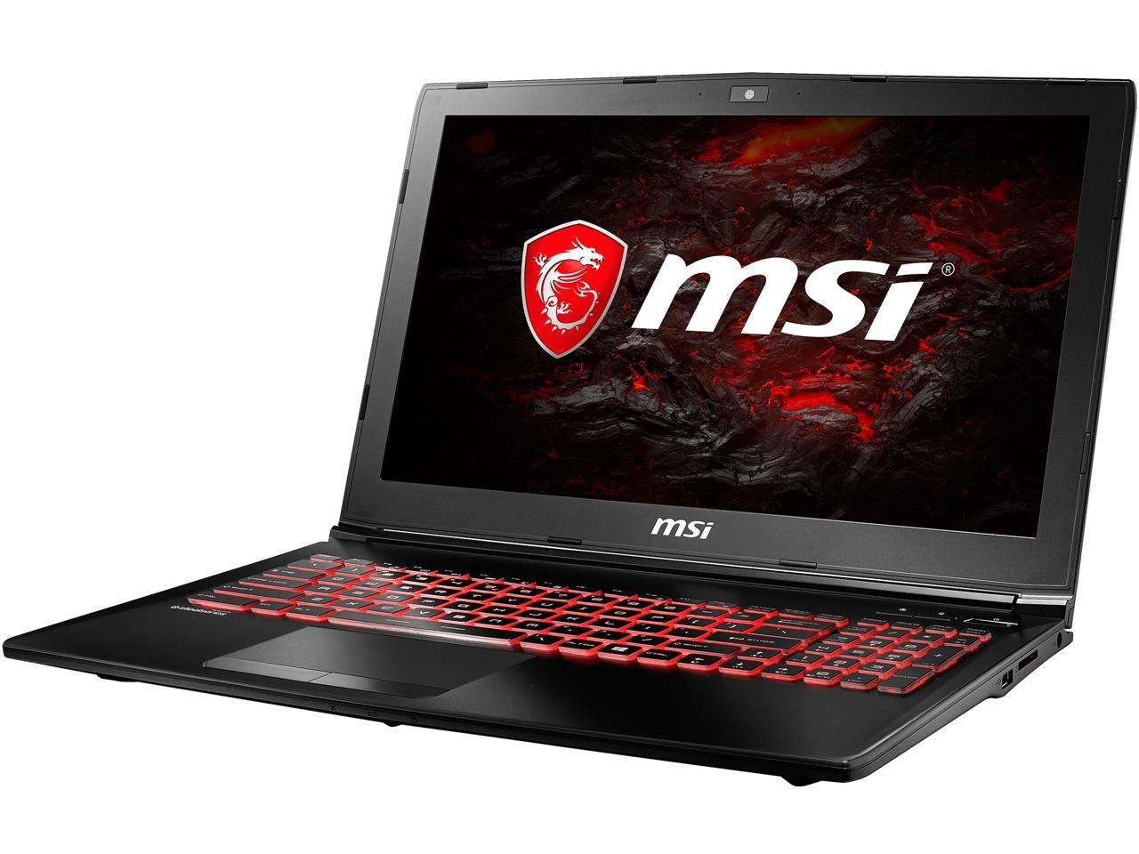 "MSI GL62M 15.6"" FHD Intel Quad Core i5 Gaming Laptop"