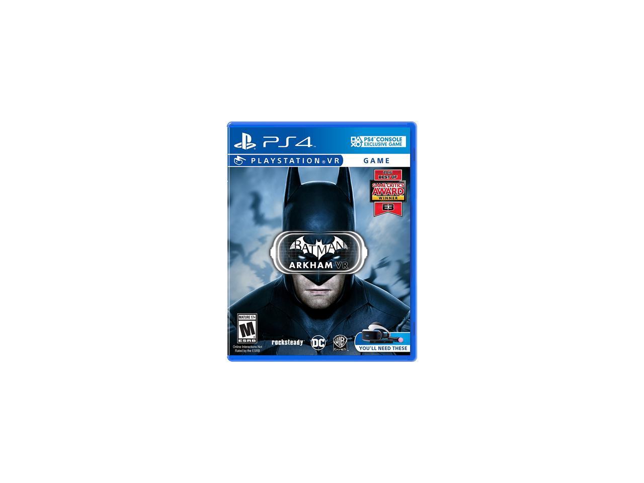 Batman/ Arkham VR - PlayStation 4