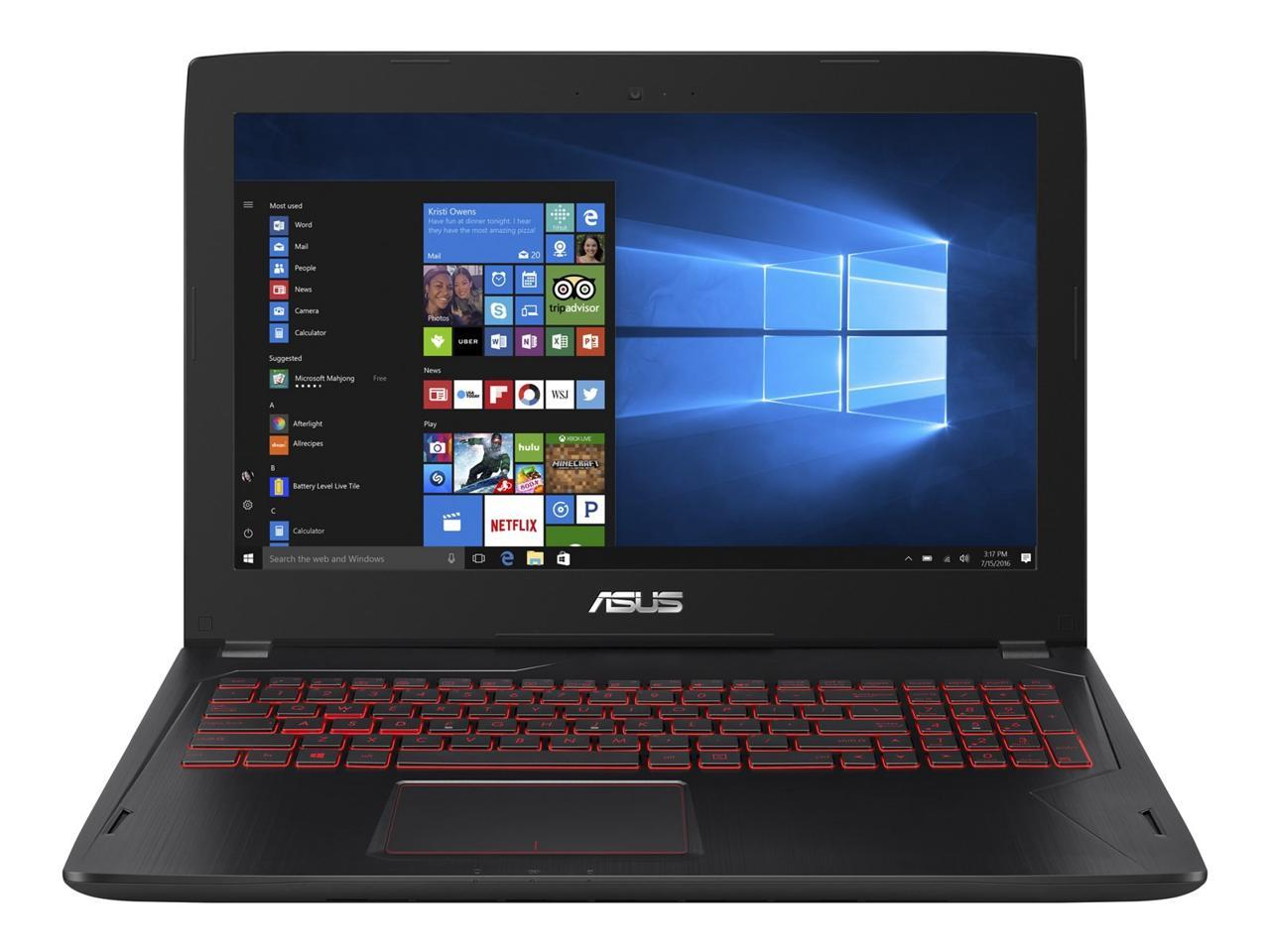 ASUS FX502VM-AS73 Gaming Laptop Intel Core i7 7th Gen 7700HQ (2 80