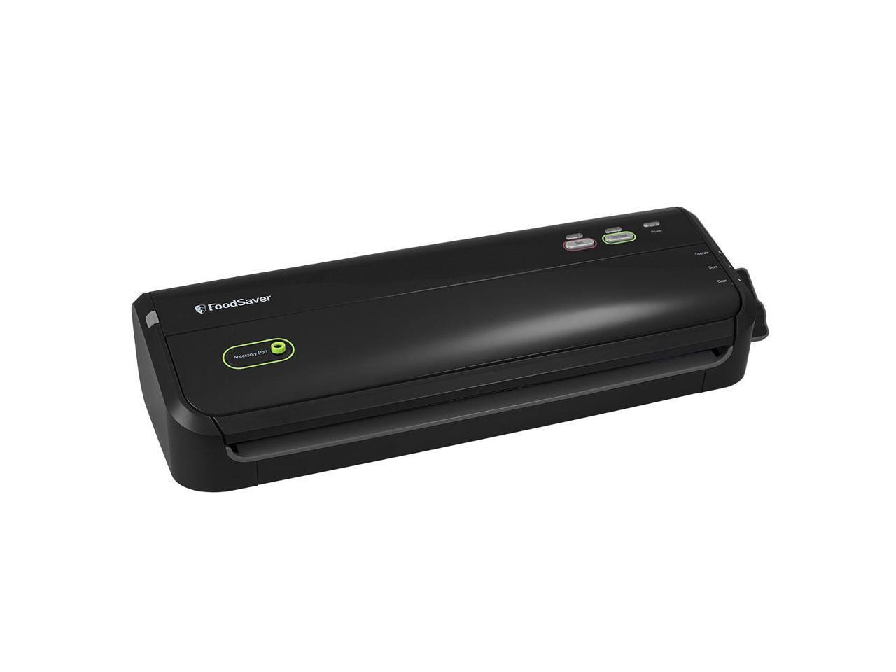 FoodSaver FM2052 Vacuum Sealing System (Black) + FoodSaver Container Flap Valve