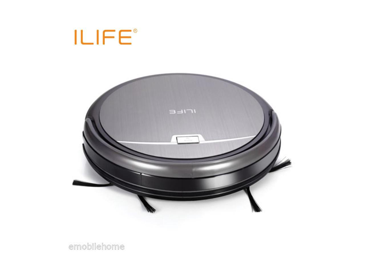 ILIFE A4S Smart Robotic Vacuum Cleaner Sweeping Machine Self-recharging HEPA US