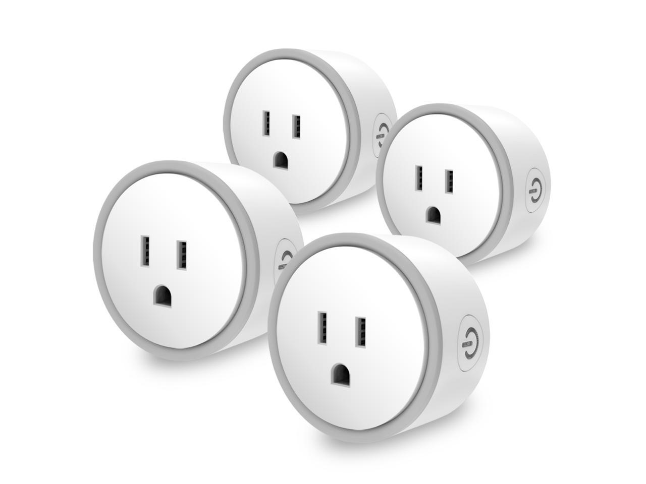 4-Pack Eques Elf Compact Smart Plug