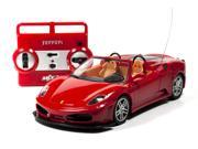 Ferrari F430 Spider 1:20th Scale RC Diecast Remote Control Car