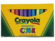 Crayola. 510403 Colored Drawing Chalk, Assorted Colors 12 Sticks/Set
