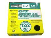 Southwire 68580021 25' 12/2 Type MC Cable Aluminum