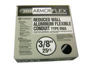 "Southwire 55082021 3/8"" X 25' Armor Flex® Reduced Wall Flexible Aluminum Condui"